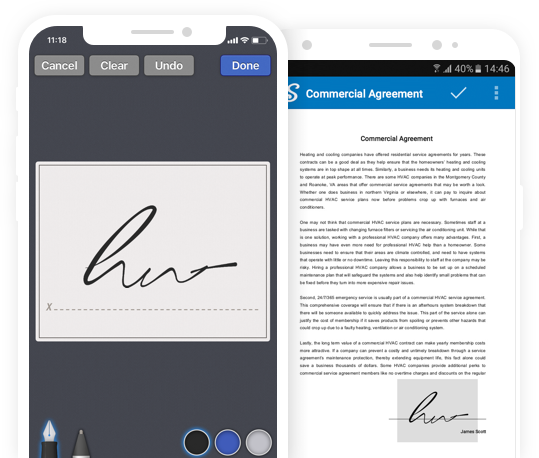 Collect Signatures From Others with mobile app
