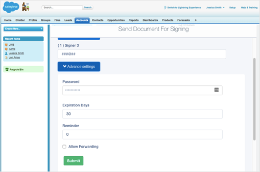 Image of how to Set Document Triggers using signNow.