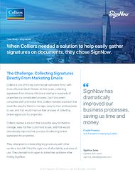 Colliers & Signing Links