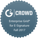 G2 Crowd Enterprise Grid for - Signature Fall 2017