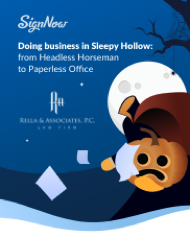 Doing business in Sleepy Hollow: from Headless Horseman to Paperless Office